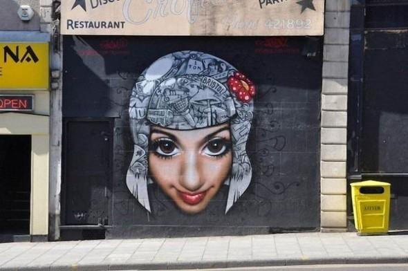 Изображение 21. Бристоль. Художественное граффити.. Изображение № 23.