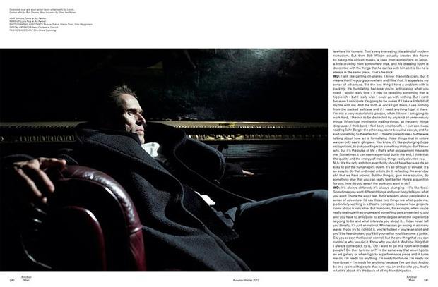 Вышли новые мужские съемки Interview, Another Man, Hero и других журналов. Изображение № 10.