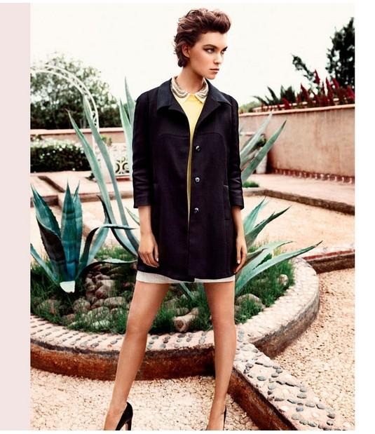 Кампания: Аризона Мьюз для Massimo Dutti SS 2012. Изображение № 8.