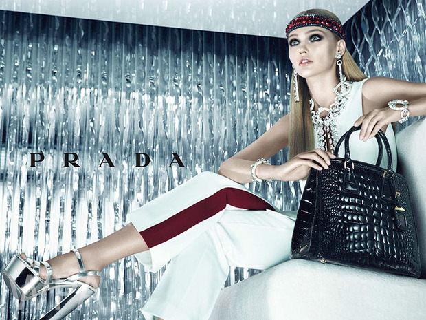 Вышли новые кампании Chanel, Donna Karan, Jaeger, Prada и THVM. Изображение № 12.