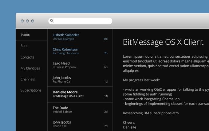 Вышла стабильная версия мессенджера Bitpost. Изображение № 1.