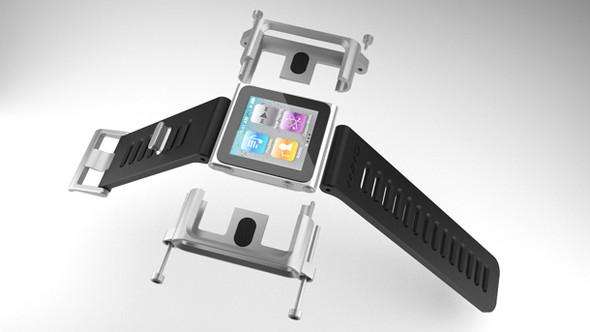 Элегантное превращение iPod nano в эффектные наручные часы. Изображение № 9.