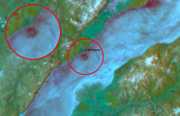 Новая загадка: Круги на полях сменились кругами на льду. Изображение № 1.