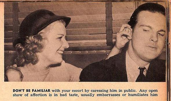 Как завоевать мужчину, вырезки из журнала 1938 года. Изображение № 7.