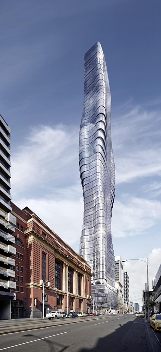 Бюро представило вдохновлённый клипом Бейонсе небоскрёб. Изображение № 4.