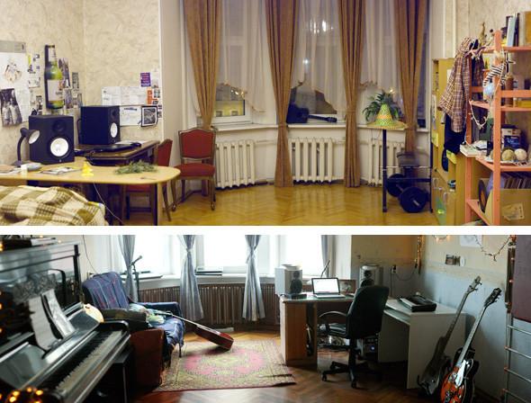 Сверху — комната Саши, снизу — Мишина. Изображение № 15.