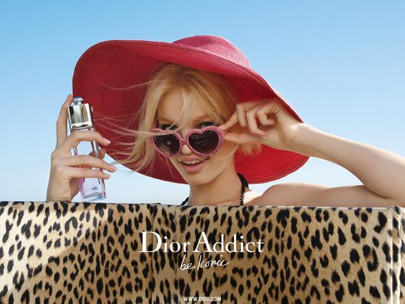 Дафна Гроенвельд для Dior Addict Fragrance. Изображение № 1.