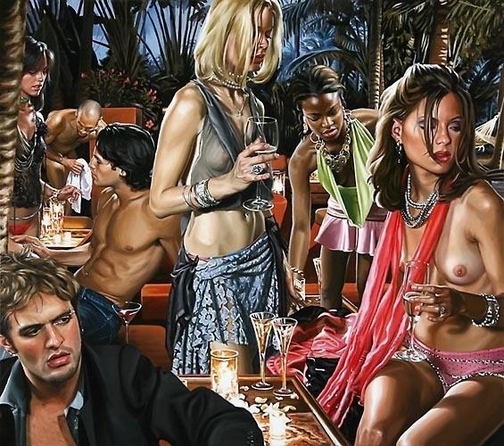 Изображение 1. Терри Роджерс выбрал для своего творчества тему молодежных фетишей: желание во всех ее переизбытках.. Изображение № 1.