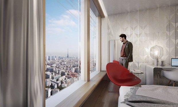 В Париже согласились строить небоскрёб-треугольник. Изображение № 15.