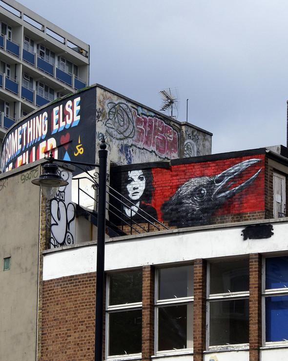 Стрит-арт в Лондоне. Изображение № 18.