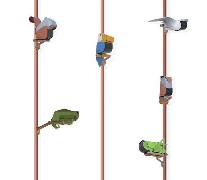 Дизайнеры адаптировали камеры наблюдения для детского сада. Изображение № 6.