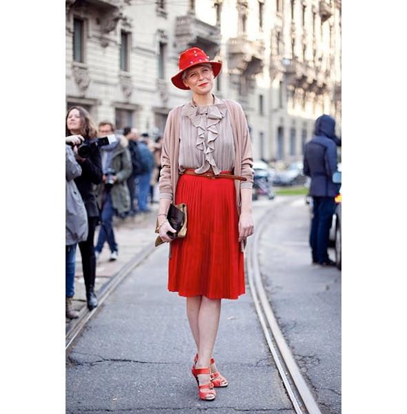 Изображение 61. На полях: 10 тенденций уличного стиля с прошедших недель моды.. Изображение № 61.