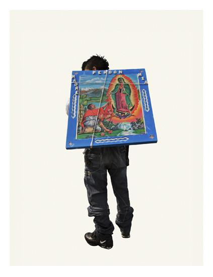 Изображение 7. Арт-портреты мексиканских паломников.. Изображение № 7.