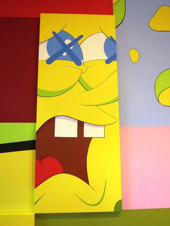 Выставка художника и дизайнера KAWS. Изображение № 10.