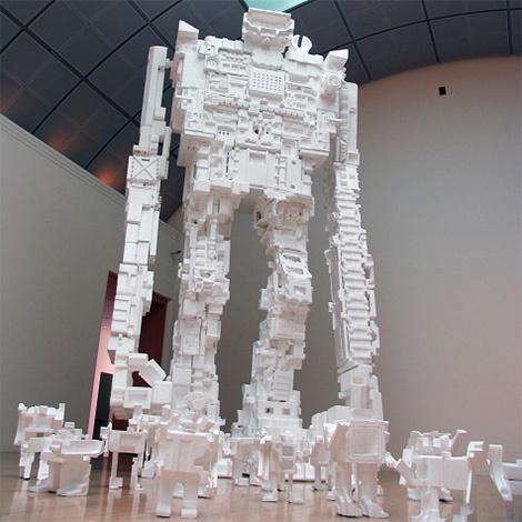 Роботы изпенопласта Майкла Салтона. Изображение № 3.