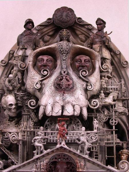 Мрачный сюрреализм Криса Кукси. Изображение № 9.