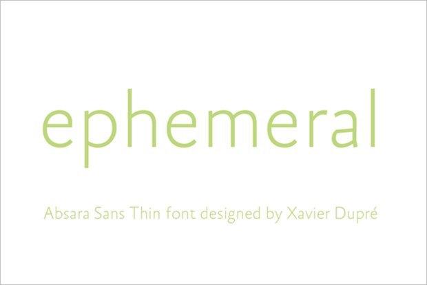 Шрифт: Absara Sans / Выбор: Kerry Stephens. Изображение № 19.