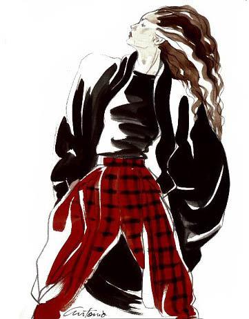 Antonio Lopez - легендарный fashion-иллюстратор. Изображение № 19.