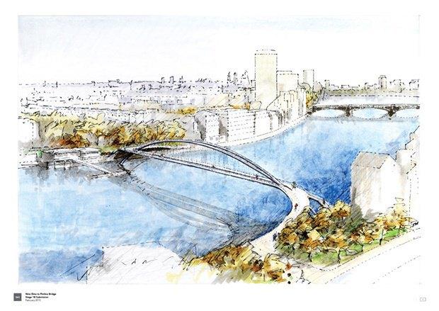 Выложены 74 проекта нового моста через Темзу. Изображение № 53.