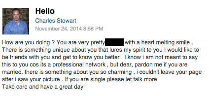 Странные письма из LinkedIn собирают в блоге CreepedIn. Изображение № 2.
