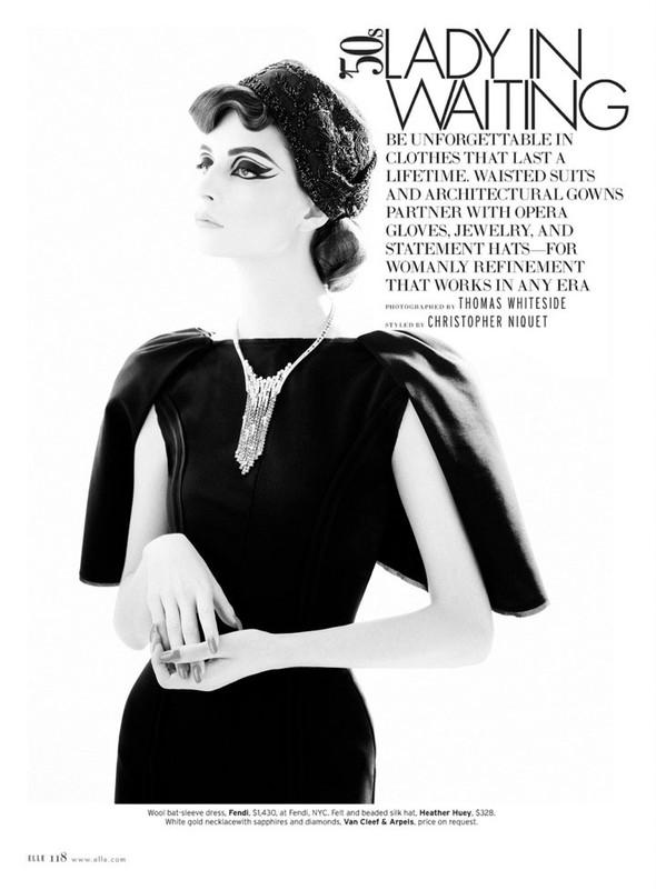 Съёмка: Сюзи Берд для Elle. Изображение № 1.