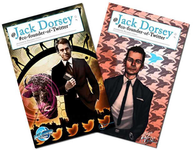 Сооснователь Twitter Джек Дорси стал героем комикса. Изображение № 1.