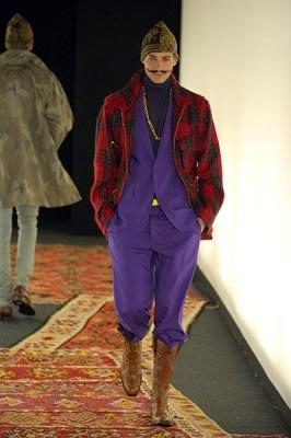 Milan Fashion week Летаргия Ferre и«таджикский гламур. Изображение № 11.