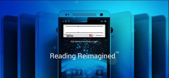 Технология Spritz меняет подход к чтению. Изображение № 1.