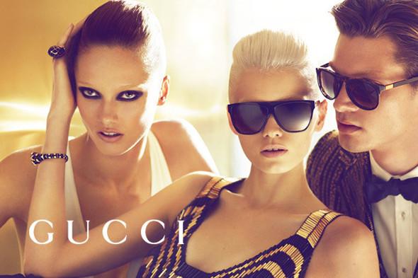 Кампания: Gucci SS 2012. Изображение № 14.