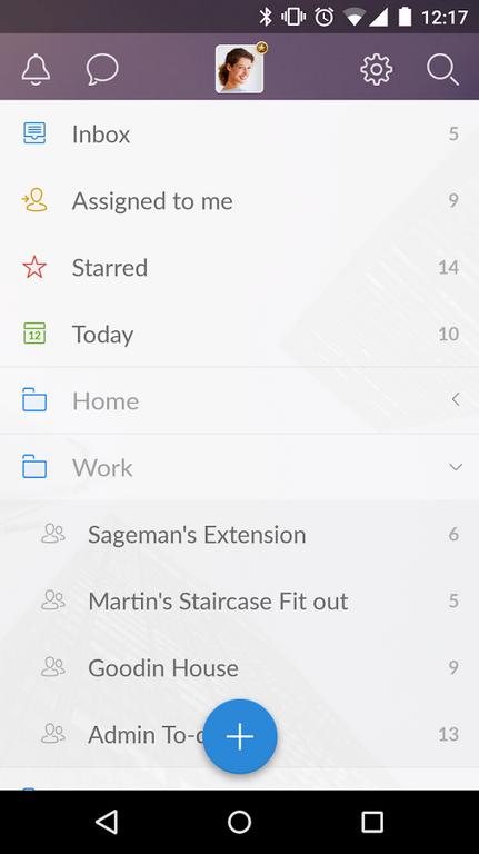 Редизайн дня: новый Wunderlist для iPhone и Android. Изображение № 3.
