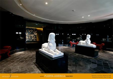 Hotel Puerta America Madrid. Изображение № 9.