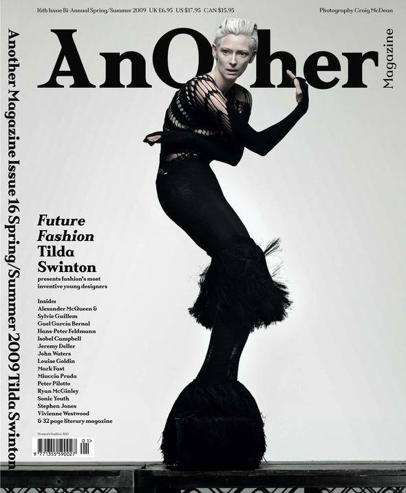 Фэшн-видео с Тильдой Суинтон и еще 10 модных съемок актрисы. Изображение № 45.