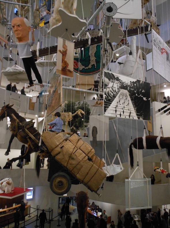 """Нью-Йоркская выставка Маурицио Каттелана """"Все"""". Изображение № 4."""