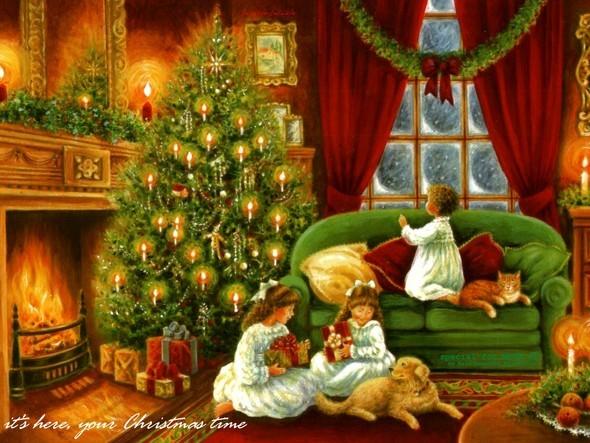 Рождественский дух. Изображение № 4.