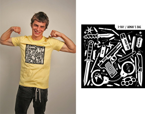 Дизайнерские футболки отT-store. Изображение № 6.