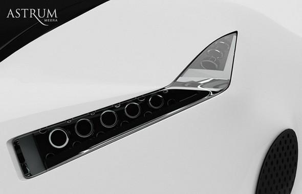 Astrum Meera - проект очень красивого автомобиля со многочисленными нововведениями. Изображение № 7.