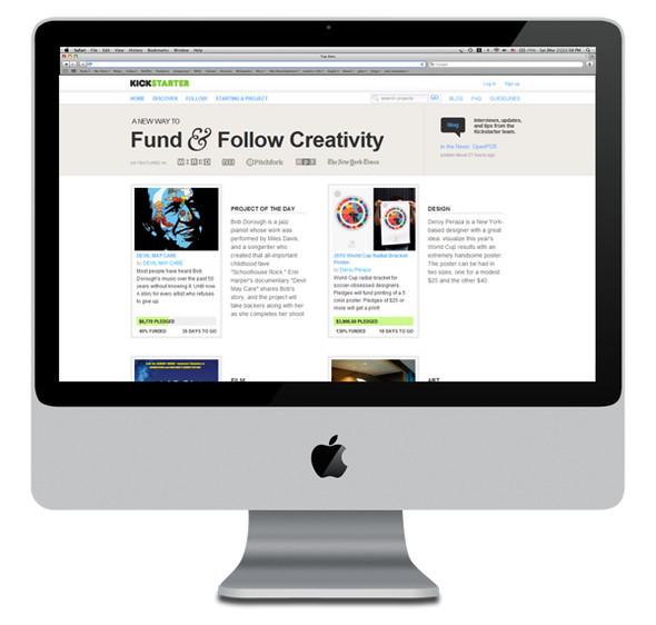 Новый способ финансирования творческих идей. Изображение № 1.