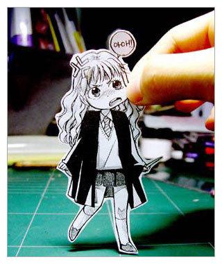Фотоработы аниме избумаги. Изображение № 1.