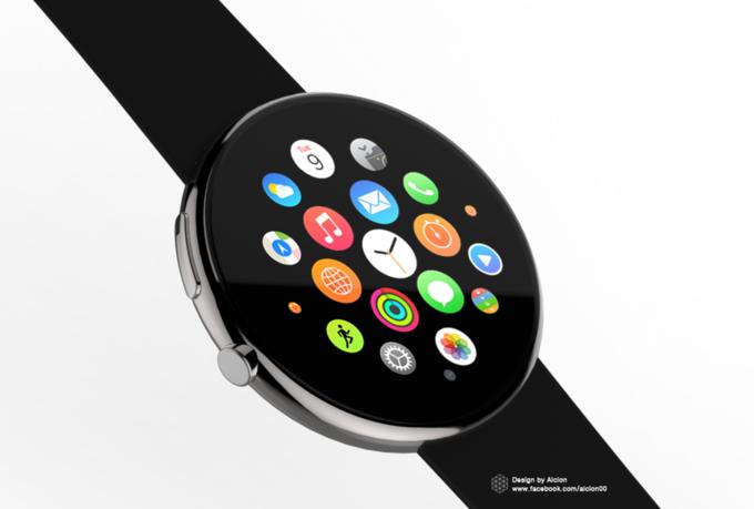 Концепт дня: круглые Apple Watch. Изображение № 3.