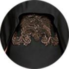Кутюр в деталях: Маски, бисер и кожа в коллекции Givenchy. Изображение № 7.