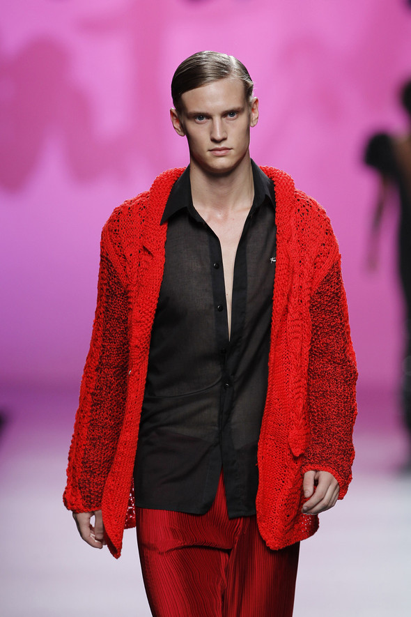 Madrid Fashion Week SS 2012: Francis Montesinos. Изображение № 22.