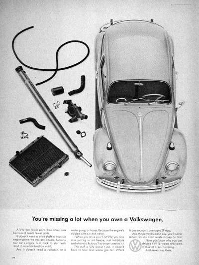 Эволюция рекламы Volkswagen. Изображение № 5.