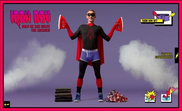 Бельё для Супергероев. Изображение № 2.