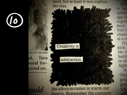 10 правил эффективного творчества Остина Клеона. Изображение № 21.
