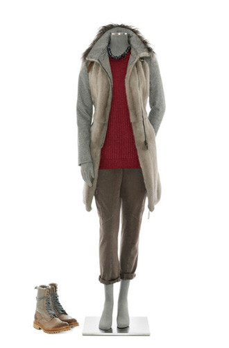 Brunello Cucinelli: лукбук осень-зима 2011/2012. Изображение № 68.