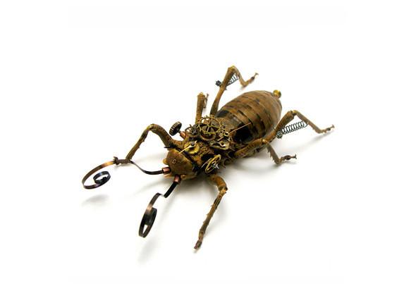 Стимпанк насекомые от Mike Libby. Изображение № 10.