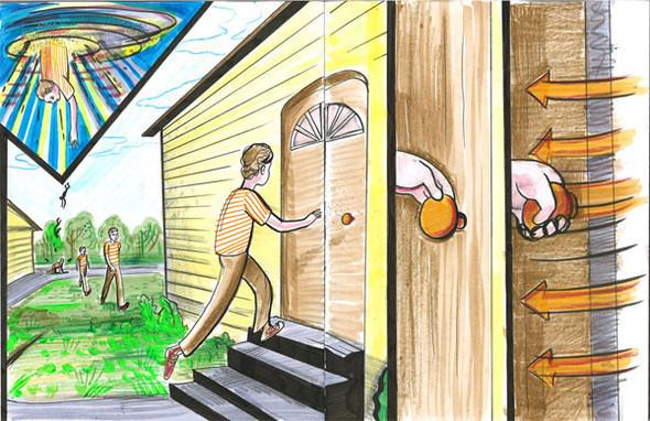 Комикс «Кроличья нора». Изображение № 15.