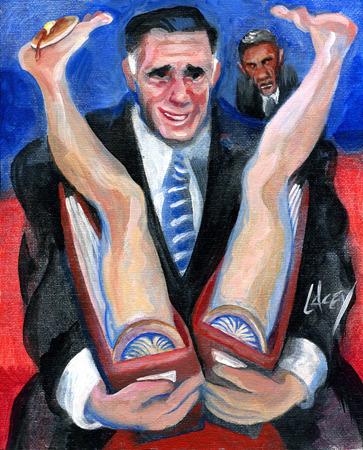 Выборы-выборы: «Папки, полные женщин» — хит президентской гонки. Изображение № 2.