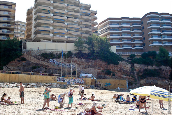 Граффити и стикеры Салоу, Испания. Изображение № 1.