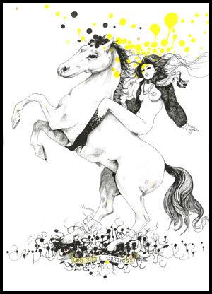 Иллюстрации Дэйвида Брэя грация исексуальный подтекст. Изображение № 27.